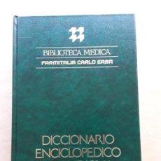 Libros de segunda mano: DICCIONARIO ENCICLOPEDICO DE MEDICINA JIMS,BIBLIOTECA MÉDICA.. Lote 166682714