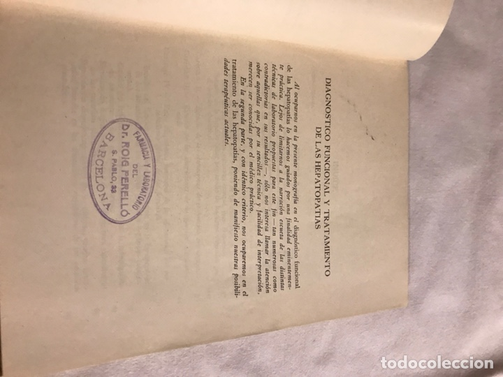 Libros de segunda mano: Diagnóstico funcional y tratamiento de las hepatopatías - Foto 4 - 166805204