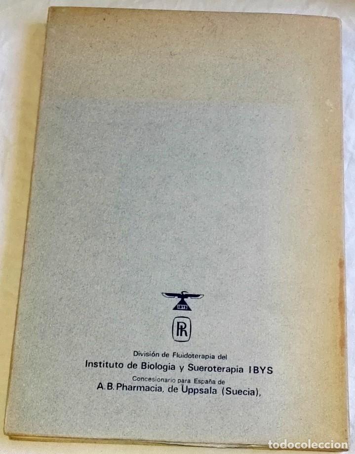 Libros de segunda mano: Mejoria Del Flujo Sanguineo, Rheomacrodex - Instituto De Biología Y Sueroterapia 1969 - Foto 2 - 166982524