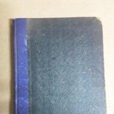 Libros de segunda mano: VEINTE LECCIONES DE PUERICULTURA,ENRIQUE SUÑER ORDÓÑEZ,1940. Lote 167064304