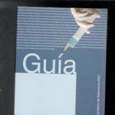 Libros de segunda mano: GUÍA PRÁCTICA DE PREPARACIÓN Y ADMINISTRACIÓN DE MEDICAMENTOS INYECTABLES. Lote 167300590