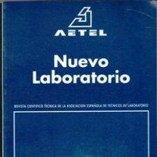 Libros de segunda mano: REVISTA NUEVO LABORATORIO. TOMO 9. Nº 1. AÑO 1993. Lote 167301388