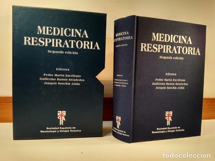 MEDICINA RESPIRATORIA. EN SU ESTUCHE. INCLUYE CD-ROM. VV.AA. 2º ED. ACTUALIZADA. ISBN 8478854010. (Libros de Segunda Mano - Ciencias, Manuales y Oficios - Medicina, Farmacia y Salud)