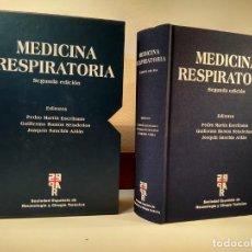 Libros de segunda mano: MEDICINA RESPIRATORIA. EN SU ESTUCHE. INCLUYE CD-ROM. VV.AA. 2º ED. ACTUALIZADA. ISBN 8478854010. . Lote 167778208
