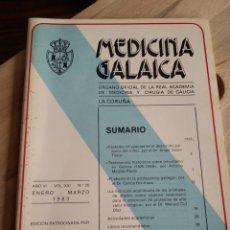 Libros de segunda mano: MEDICINA GALAICA. Nº 20 ENERO MARZO 1983. Lote 167920126