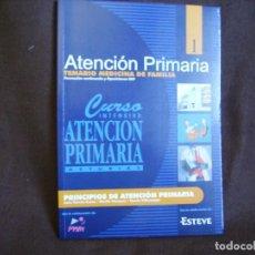 Libros de segunda mano: ATENCIÓN PRIMARIA.TEMARIO MEDICINA DE FAMILIA. VOLUMEN 1. Lote 167945728