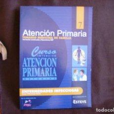Libros de segunda mano: ATENCIÓN PRIMARIA. TEMARIO MEDICINA DE FAMILIA. VOLUMEN 7. Lote 167947576