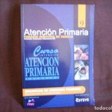Libros de segunda mano: ATENCIÓN PRIMARIA. TEMARIO MEDICINA DE FAMILIA. VOLUMEN 9. Lote 167948028