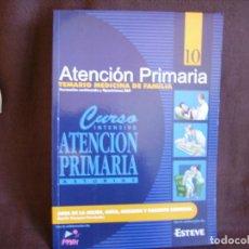Libros de segunda mano: ATENCIÓN PRIMARIA. TEMARIO MEDICINA DE FAMILIA. VOLUMEN 10. Lote 167948568
