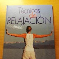 Libros de segunda mano: TÉCNICAS DE RELAJACIÓN (EQUIPO CULTURAL). Lote 167951720
