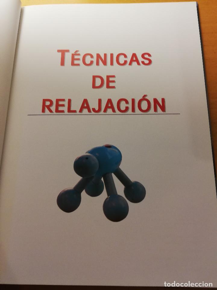 Libros de segunda mano: TÉCNICAS DE RELAJACIÓN (EQUIPO CULTURAL) - Foto 2 - 167951720