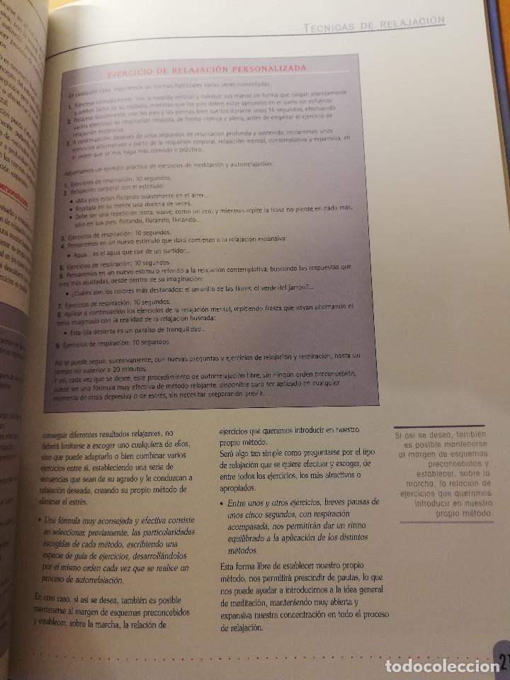 Libros de segunda mano: TÉCNICAS DE RELAJACIÓN (EQUIPO CULTURAL) - Foto 8 - 167951720