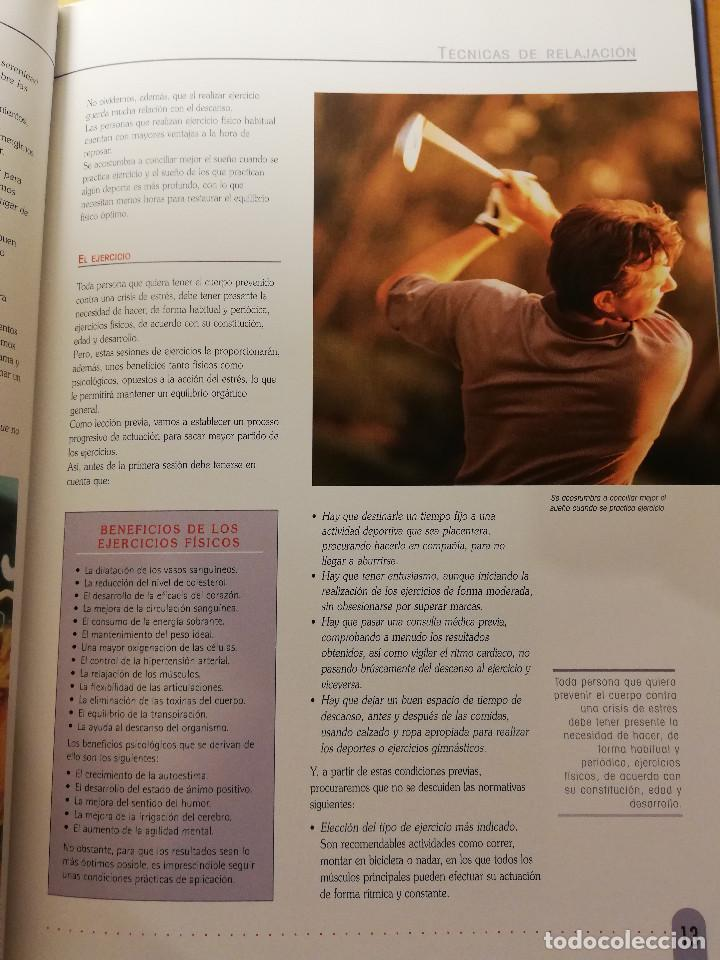 Libros de segunda mano: TÉCNICAS DE RELAJACIÓN (EQUIPO CULTURAL) - Foto 9 - 167951720