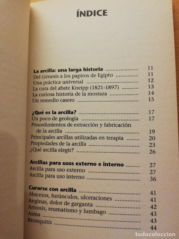Libros de segunda mano: CÓMO CURA LA ARCILLA. DESCUBRE SUS PROPIEDADES Y APLICACIONES TERAPÉUTICAS (MARIE - FRANCE MULLER) - Foto 3 - 167952672