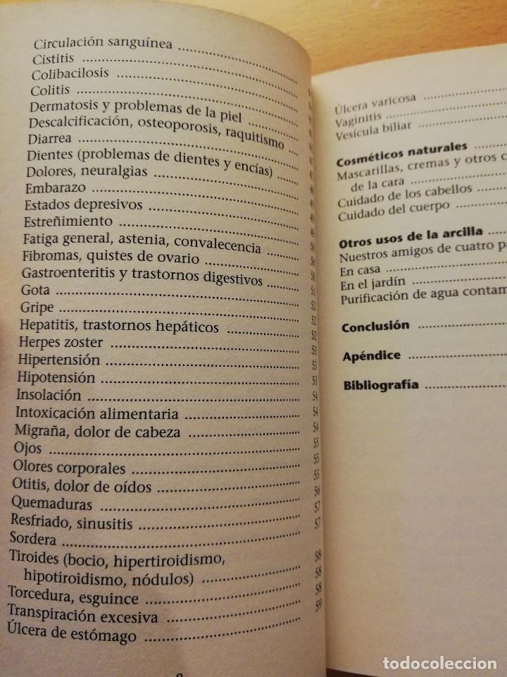 Libros de segunda mano: CÓMO CURA LA ARCILLA. DESCUBRE SUS PROPIEDADES Y APLICACIONES TERAPÉUTICAS (MARIE - FRANCE MULLER) - Foto 4 - 167952672