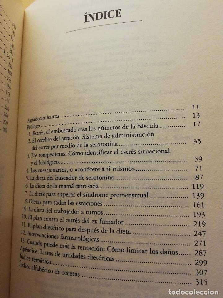 Libros de segunda mano: SEROTONINA. EL ARMA MILAGROSA DE NUESTRO ORGANISMO PARA ADELGAZAR Y SENTIRSE BIEN (WURTMAN / SUFFES) - Foto 3 - 167954772