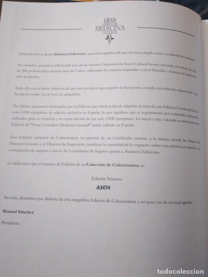 Libros de segunda mano: Gran Consultor Medicina General - Foto 7 - 168535180