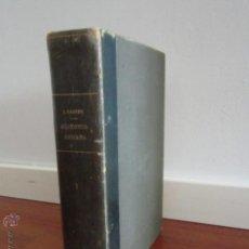 Libros de segunda mano: LIBRO MEDICINA TRATADO DE ANATOMÍA HUMANA. TOMO PRIMERO. L. TESTUT Y A. LATARJET. 1954.. Lote 168570112