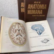 Libros de segunda mano: ATLAS DE ANATOMÍA HUMANA. SOBOTTA / BECHER 3 TOMOS (COMPLETA). Lote 168963909