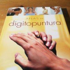 Libros de segunda mano: ATLAS DE DIGITOPUNTURA. Lote 169043500