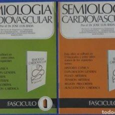 Libros de segunda mano: FASCICULOS N°1 Y 2 SEMIOLOGÍA CARDIOVASCULAR 1977. Lote 170160941