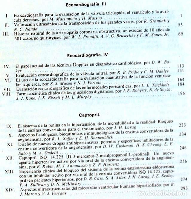 Libros de segunda mano: PROGRESOS EN LAS ENFERMEDADES CARDIOVASCULARES VOL. XIX - VER INDICE Y CONTENIDOS - Foto 3 - 170302088