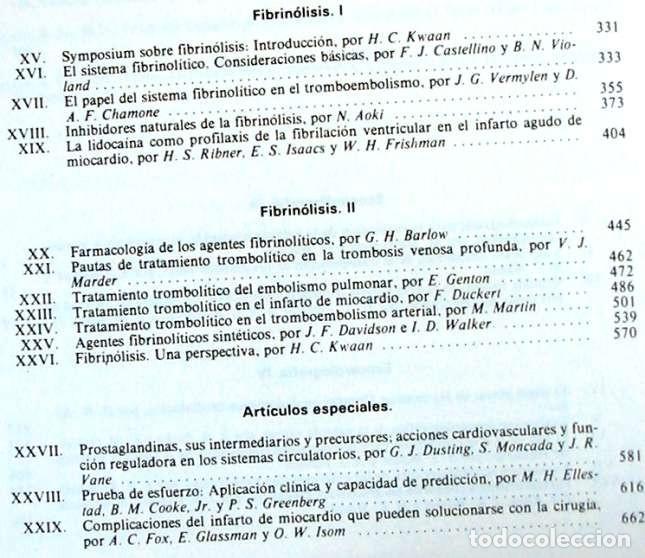 Libros de segunda mano: PROGRESOS EN LAS ENFERMEDADES CARDIOVASCULARES VOL. XIX - VER INDICE Y CONTENIDOS - Foto 4 - 170302088