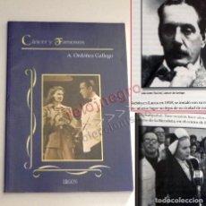 Libros de segunda mano: CÁNCER Y FAMOSOS LIBRO DR A ORDÓÑEZ GALLEGO MEDICINA ONCOLOGÍA TUMORES - EVA PERÓN JOHN WAYNE NERUDA. Lote 170430356