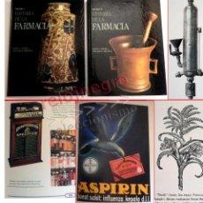 Libros de segunda mano: HISTORIA DE LA FARMACIA LIBRO ( 2 TOMOS ) JOYA -MUY ILUSTRADO- COWEN HELFAND MEDICINA SALUD CIENCIAS. Lote 170495660