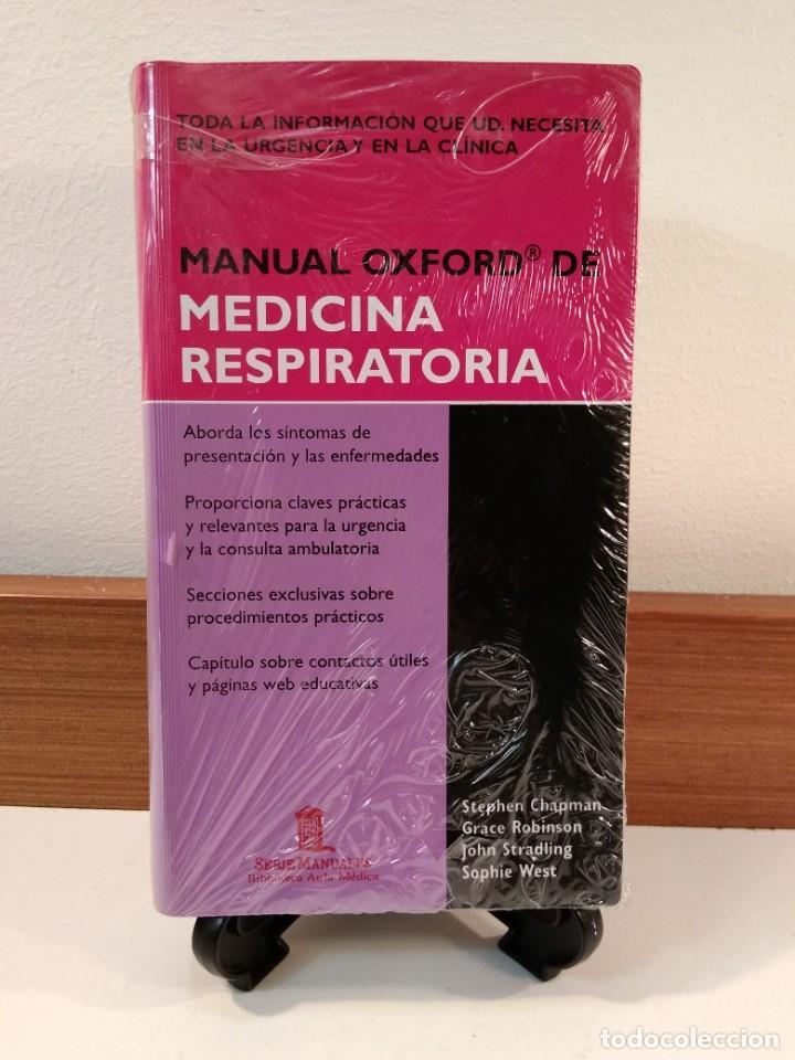 MANUAL OXFORD DE MEDICINA RESPIRATORIA. STEPHEN CHAPMAN Y OTROS. ISBN 97878854110. (Libros de Segunda Mano - Ciencias, Manuales y Oficios - Medicina, Farmacia y Salud)