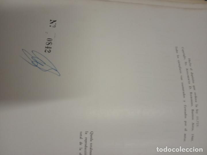 Libros de segunda mano: protesis parcial removible -adalberto d. rebossio -1960 -buenos aires -numerado - Foto 5 - 170934460