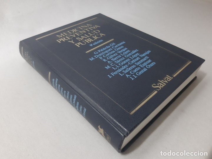 Libros de segunda mano: Medicina preventiva y salud pública por Gonzalo Piédrola Gil (1988) - Piédrola Gil, Gonzalo - Foto 2 - 170996474
