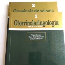 Libros de segunda mano: OTORRINOLARINGOLOGIA/VV.AA. 2 TOMOS. Lote 171321443
