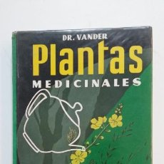 Libros de segunda mano: PLANTAS MEDICINALES. DR. ADRIAN VANDER. TDK394. Lote 171431087