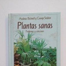 Libros de segunda mano: PLANTAS SANAS. PROBLEMAS Y SOLUCIONES. ANDREW BICKNELL Y GEORGE SEDDON. TDK394. Lote 171440789
