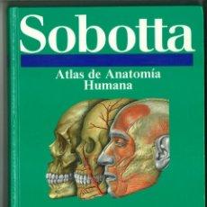 Libros de segunda mano: ATLAS DE ANATOMÍA HUMANA SOBOTTA. JOCHEN STAUBESAND. Lote 171522769