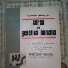 Libros de segunda mano: CURSO DE GENÉTICA HUMANA - FUNDACIÓN JIMÉNEZ DÍAZ - 1967. Lote 171946775
