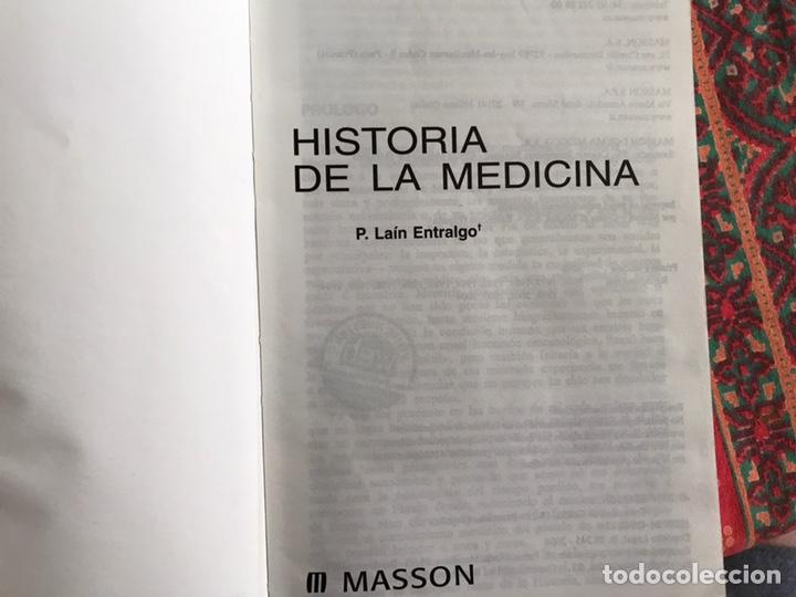 Libros de segunda mano: Historia de la medicina. Pedro Laín Entralgo. Masson - Foto 3 - 171969415