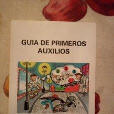 Libros de segunda mano: GUÍA DE PRIMEROS AUXILIOS. CRUZ ROJA. 117PGS. Lote 172090868