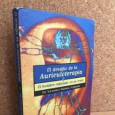 Libros de segunda mano: EL DESAFIO DE LA AURICULOTERAPIA - DR. VICTORINO MARTINEZ FIGUEREO - MANDALA EDICIONES - GCH. Lote 172271824