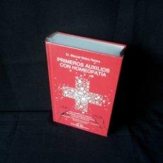 Libros de segunda mano: DR. MANUEL MATEU RATERA - PRIMEROS AUXILIOS CON HOMEOPATIA - EDICIONES NARAYANA, SIN ABRIR. Lote 172409782