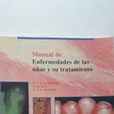 Libros de segunda mano: MANUAL DE ENFERMEDADES DE LAS UÑAS Y SU TRATAMIENTO - D. A. R. DE BERKER; R. BARAN; R. P. R DAWBER. Lote 172692535