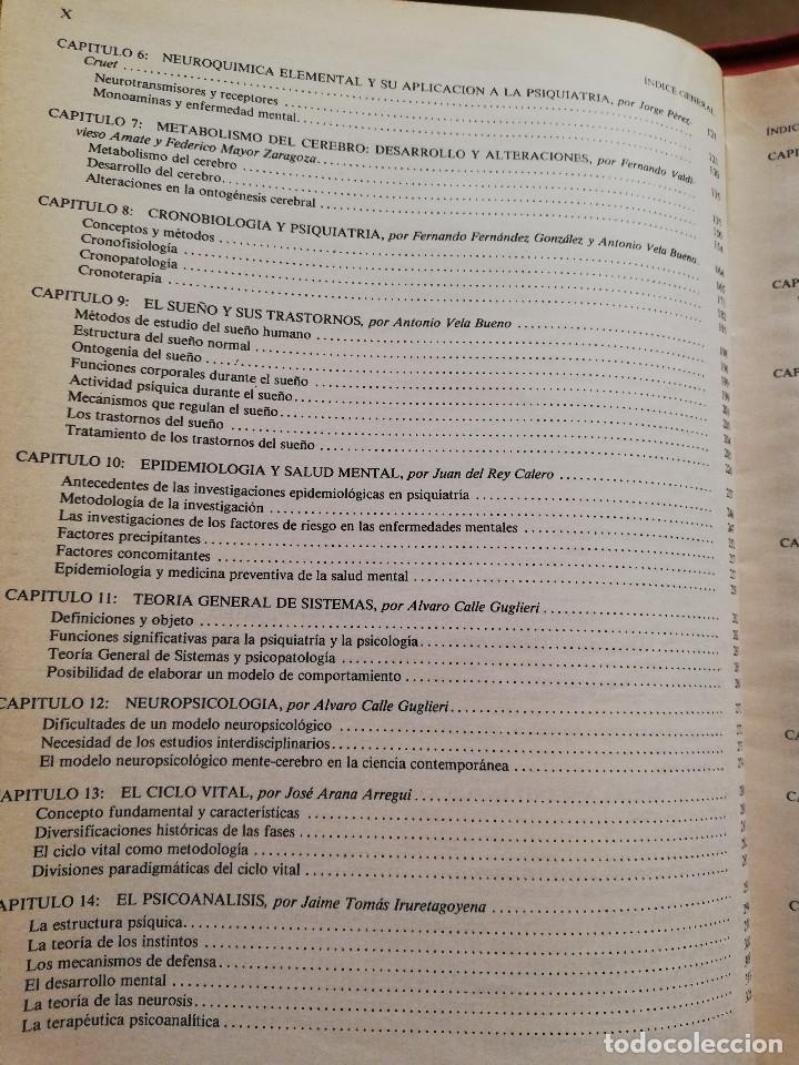 Libros de segunda mano: MANUAL DE PSIQUIATRÍA (DE RIVERA / VELA / ARANA) EDITORIAL KARPOS - Foto 4 - 172699453