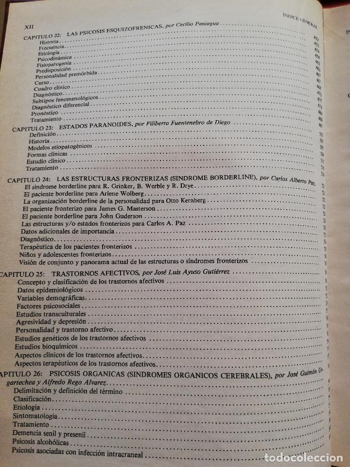 Libros de segunda mano: MANUAL DE PSIQUIATRÍA (DE RIVERA / VELA / ARANA) EDITORIAL KARPOS - Foto 6 - 172699453