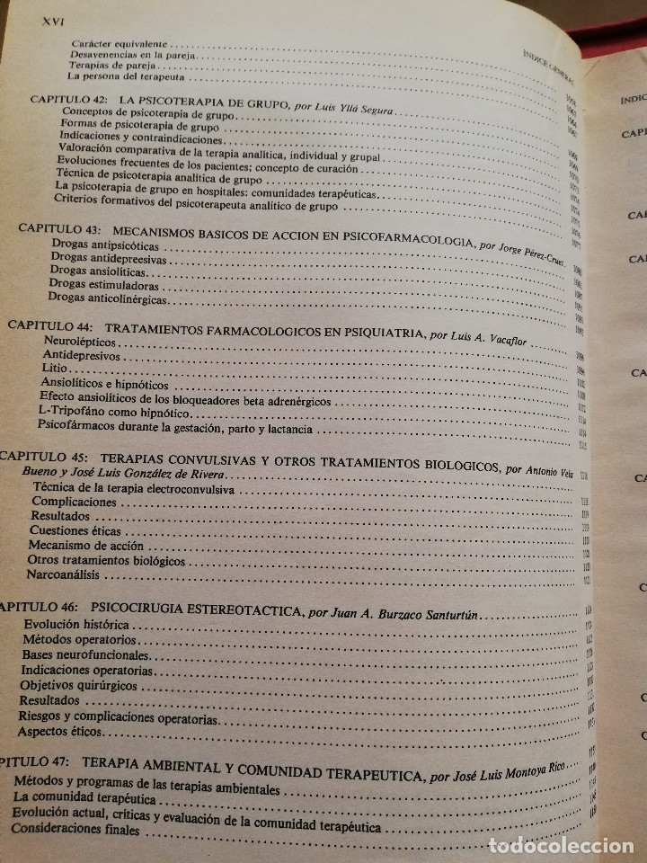 Libros de segunda mano: MANUAL DE PSIQUIATRÍA (DE RIVERA / VELA / ARANA) EDITORIAL KARPOS - Foto 10 - 172699453