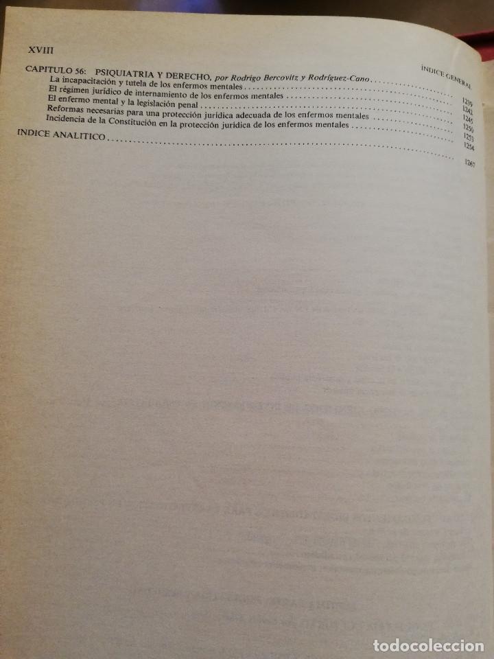 Libros de segunda mano: MANUAL DE PSIQUIATRÍA (DE RIVERA / VELA / ARANA) EDITORIAL KARPOS - Foto 12 - 172699453