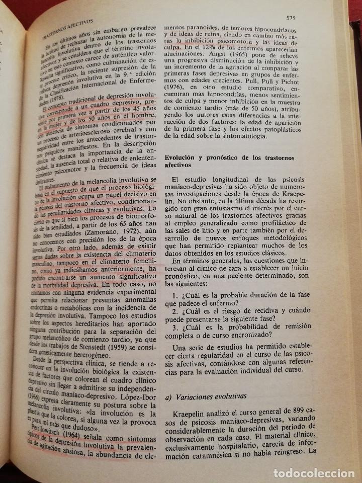 Libros de segunda mano: MANUAL DE PSIQUIATRÍA (DE RIVERA / VELA / ARANA) EDITORIAL KARPOS - Foto 16 - 172699453