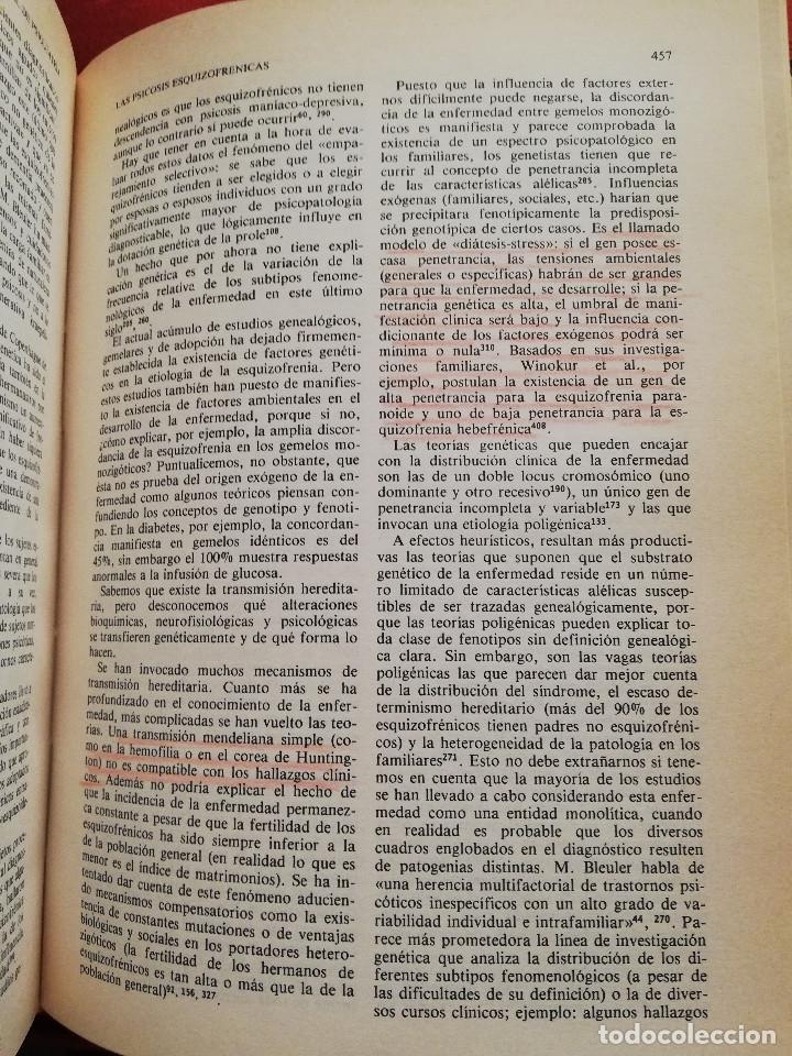 Libros de segunda mano: MANUAL DE PSIQUIATRÍA (DE RIVERA / VELA / ARANA) EDITORIAL KARPOS - Foto 17 - 172699453