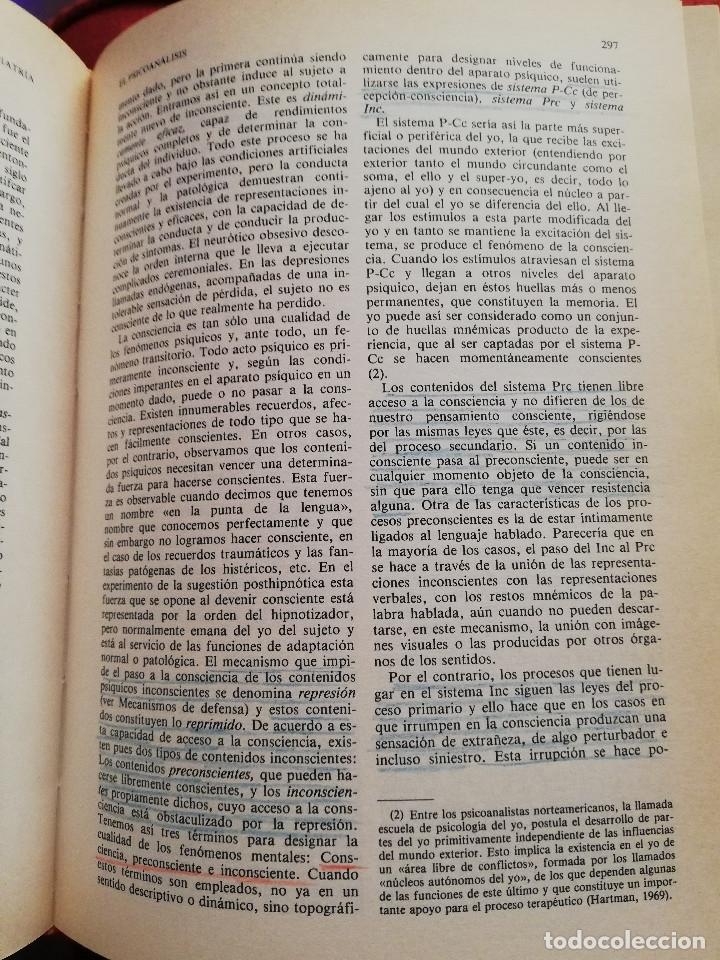 Libros de segunda mano: MANUAL DE PSIQUIATRÍA (DE RIVERA / VELA / ARANA) EDITORIAL KARPOS - Foto 18 - 172699453