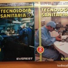 Libros de segunda mano: TECNOLOGÍA SANITARIA (VV. AA) F.P.1 + F.P.2 (EDITORIAL EVEREST). Lote 173680297